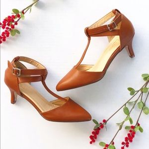 Chase and Chloe Comfort D'Orsay Heel